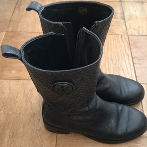 Tory Burch Marion Quilted Leather Boots